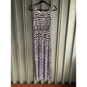 APT 9 Print Maxi Dress Sz XS